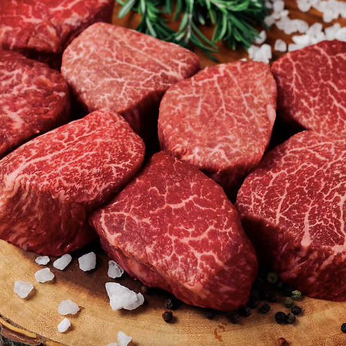 Japanese Wagyu Filet Mignon Steaks, A5 Grade