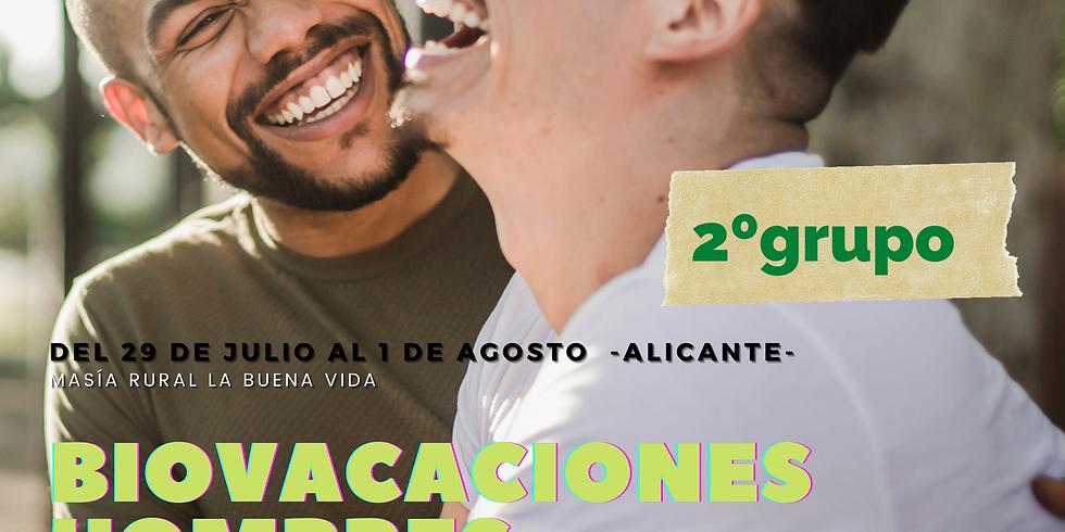 BIOVACACIONES HOMBRES 2ºGrupo Julio 2021-