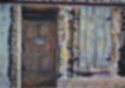 Vieille maison en Arles. Aquarelle