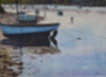 aquarelle marine de Bretagne. Le Conquet (Finistère Nord)