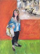 Mike Bartlett artist Rosemarie at Saatchi Gallery
