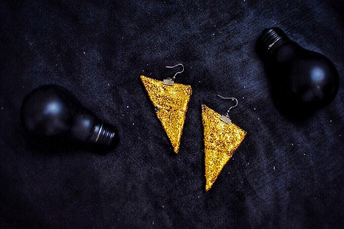 01/SPARKLE upcycled earrings