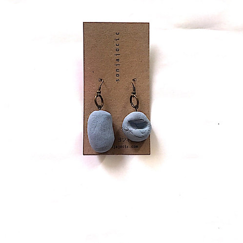 27/ 彫刻 earrings
