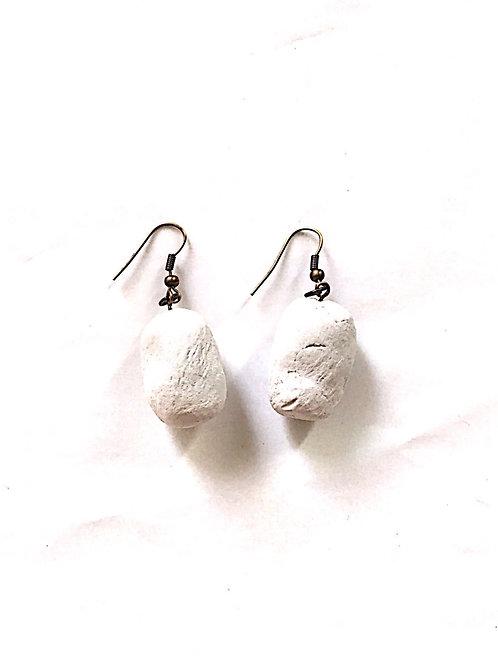 35/ 彫刻 earrings