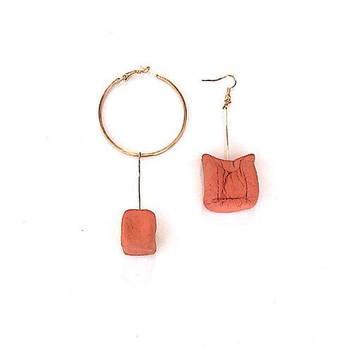 67/ 彫刻 earrings