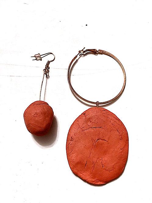 05/ 彫刻 earrings
