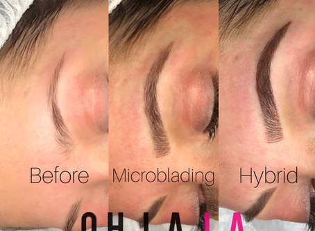 What is a Hybrid Brow and is it better then Microblading?