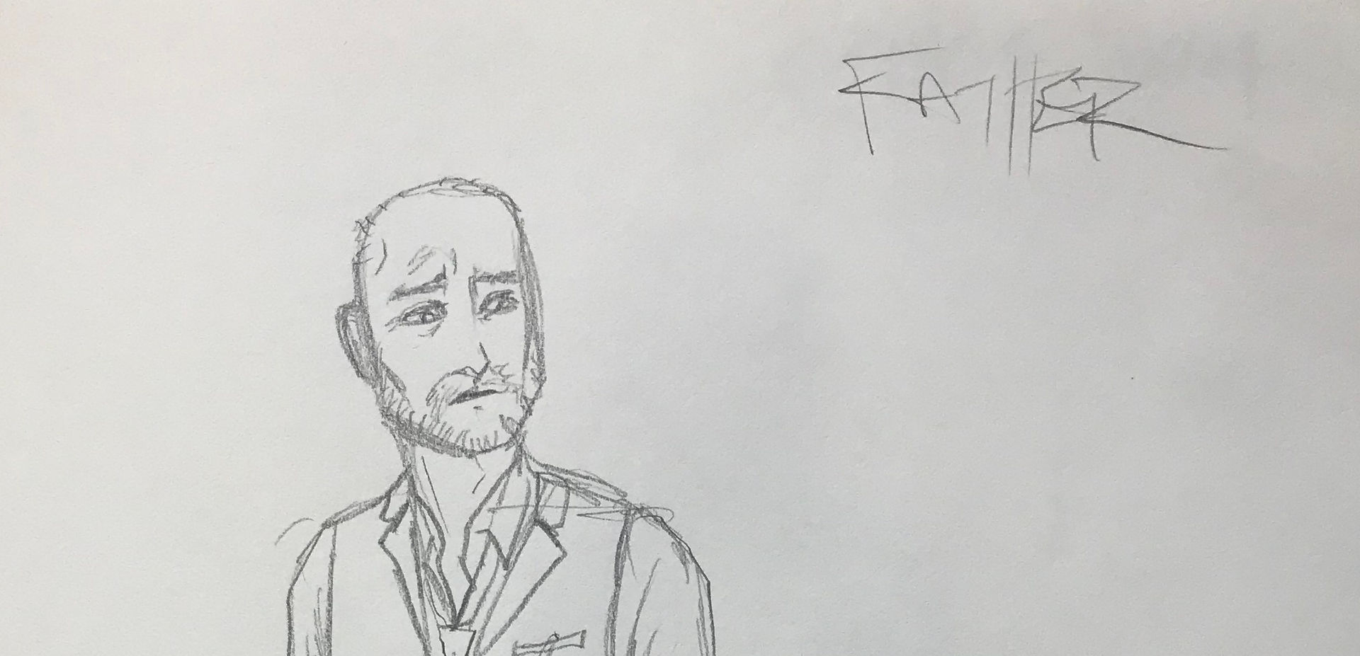 Costume Sketch of Father