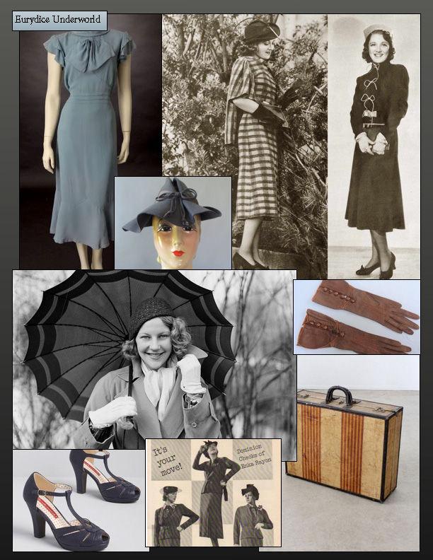 Costume Research - Eurydice
