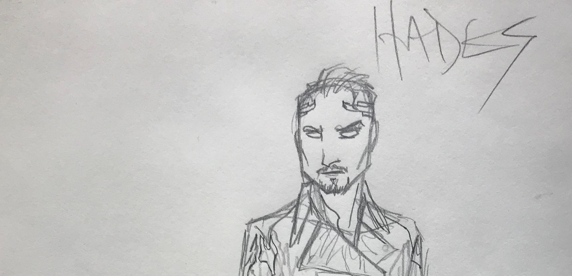 Costume Sketch of Hades