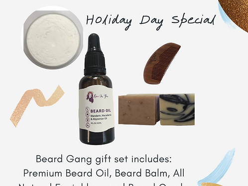 Beard Gang Gift Set