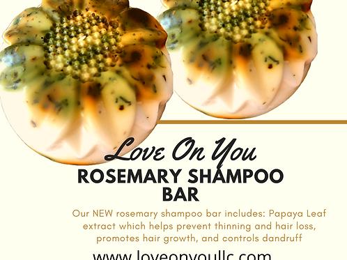 Rosemary Mint Shampoo Bar