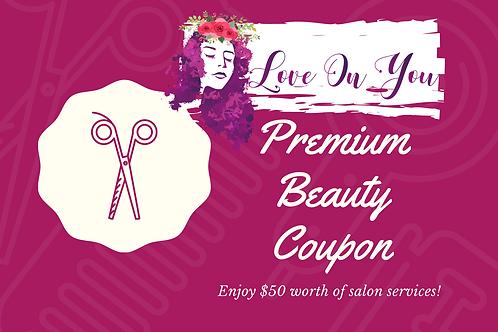 Salon Gift Certificate