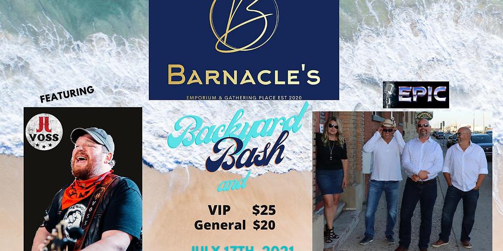 Barnacle's Backyard Bash