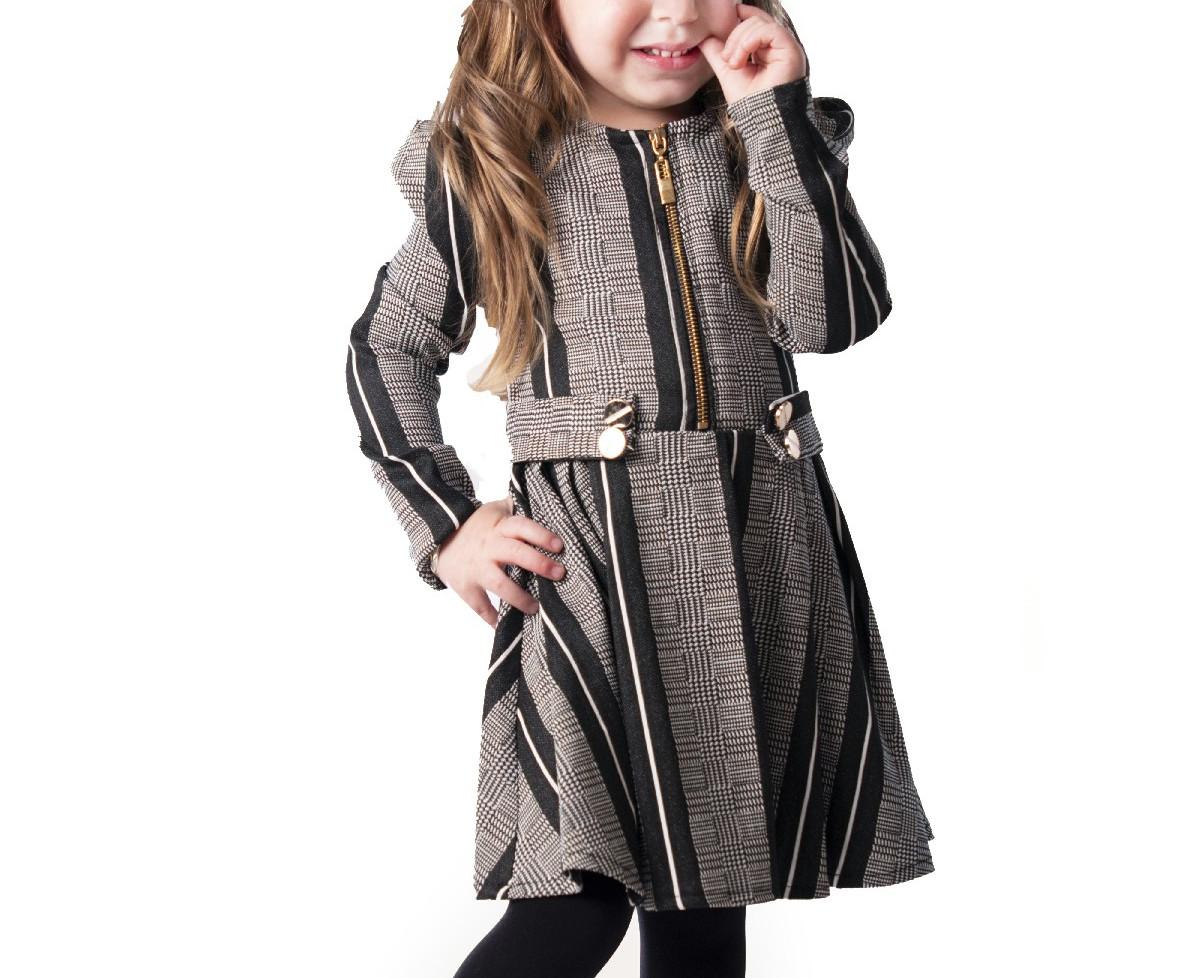 שמלה שאנל malaya | מאליה אופנת ילדים