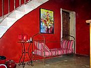 patine murale acrylique et pigments