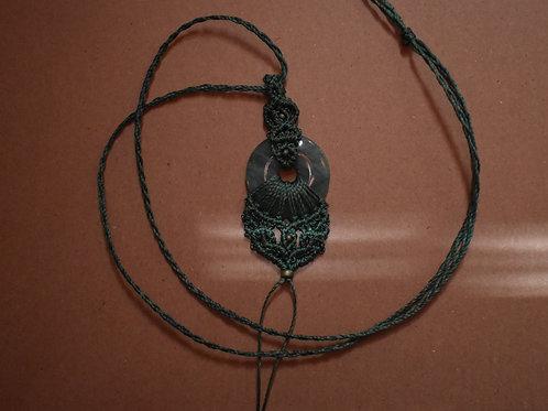 Peaceful Warrior - Macramé ketting
