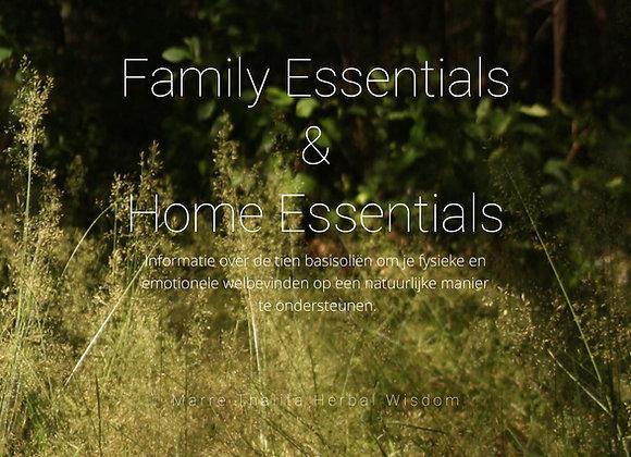 Family Essentials & Home Essentials (E-book)