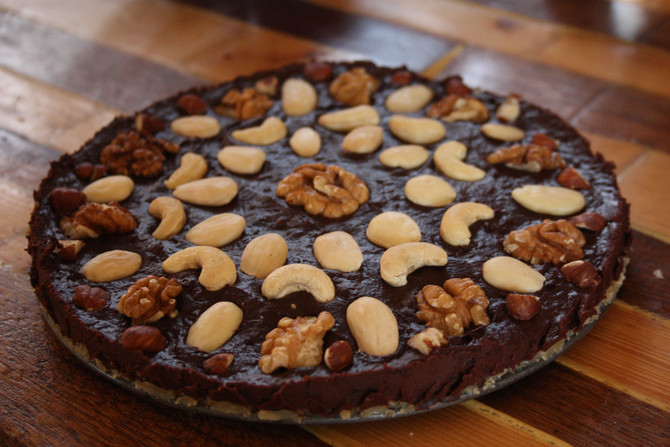 Chocolade Fudge Gembertaart