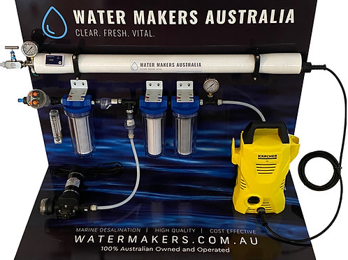 Marine & Bore Water Maker Solutions - Please Click to Choose Options - From