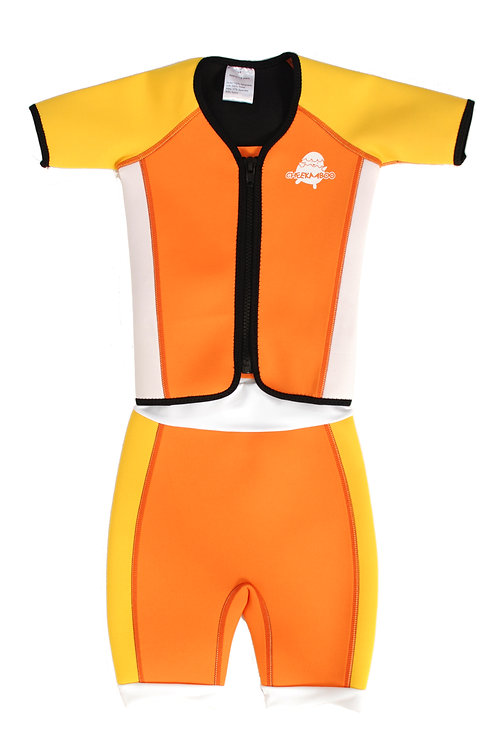 Mini Twinwets Separates (Orange + Yellow)