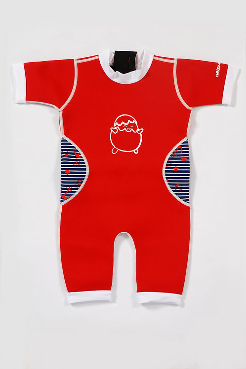 WarmieBabes Suit (Red + Sailor)