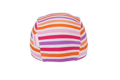 Swim Cap (Pink Stripe)