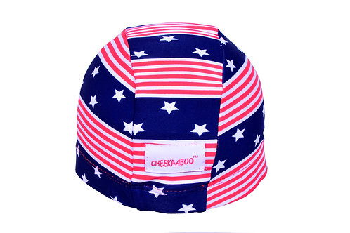 Swim Cap (Strip with Star)