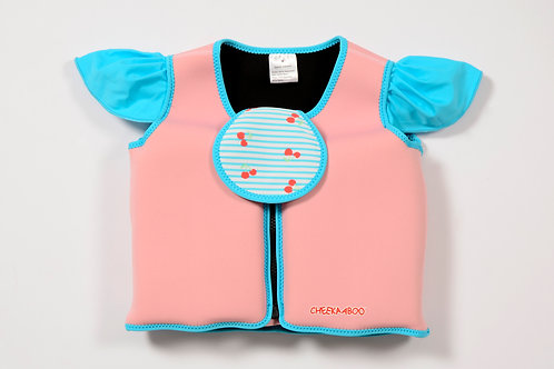 Floatsy Jacket (Light Pink + Cherry)