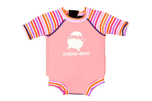SnugBabes All In One (Pink + Pink Stripe)