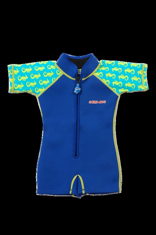Wobbie Suit (Navy Blue + Sea Horse)