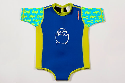 ChittyBabes Suit (Navy Blue + Sea Horse)