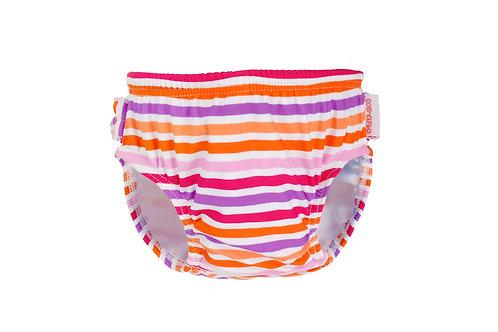 Swim Diaper (Pink Stripe)