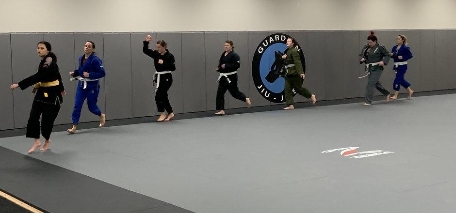 Women's BJJ Class - Guardian Jiu-Jitsu -