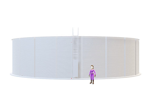 Tanks RCT 650-50 (1,480,818L) Dia: 19,421 m, H: 5.0m