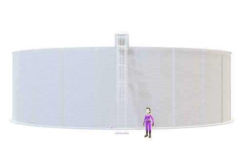 Tanks RCT 790-64 (2,363,759L) Dia: 21.681 m, H: 6.4m