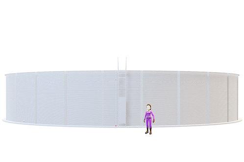Tanks RCT 940-43 (1,833,845L) Dia: 23.305m, H: 4.3m