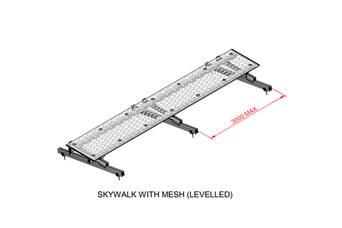 Skywalk With Mesh (Levelled)