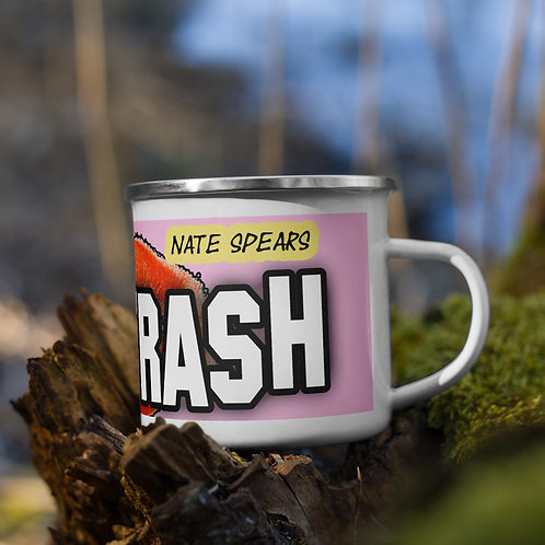 Trash Enamel Mug