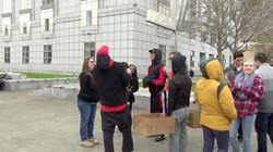West Coast Celebration Serving the Homeless