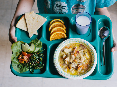 What do hungry kids do when the school cafeteria is closed?