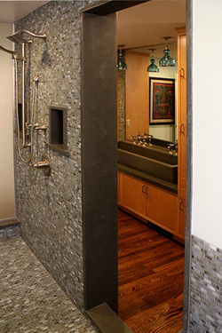 Concrete Shower Sink