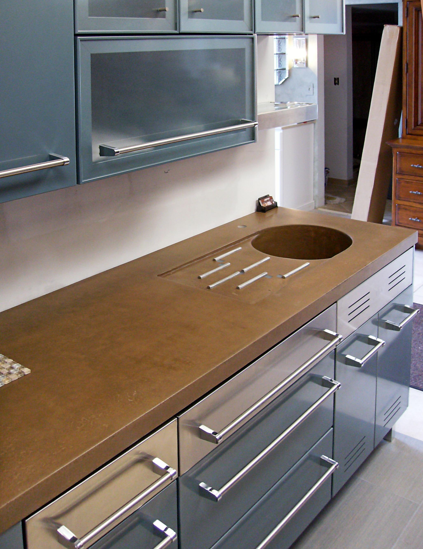 Round Kitchen Sink