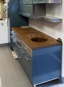 Integral Concrete Sink
