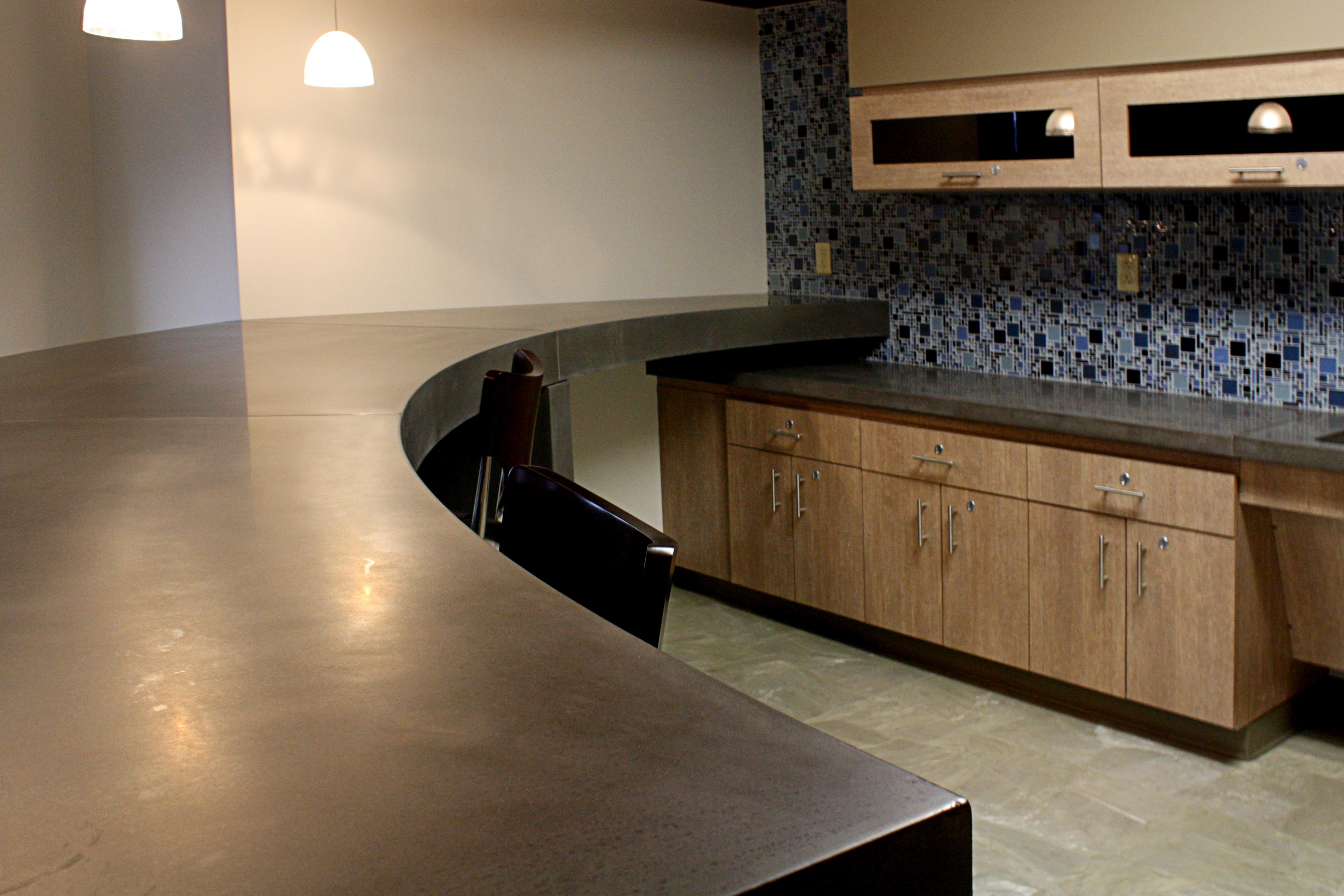 Commercial Concrete Countertop