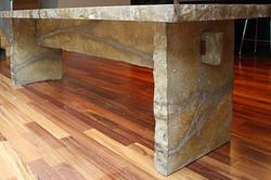 Concrete Table Natural Stone