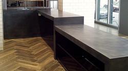 Concrete Service Counter