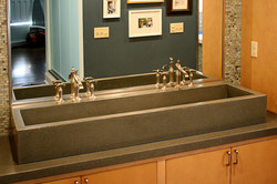 Double Concrete Sink