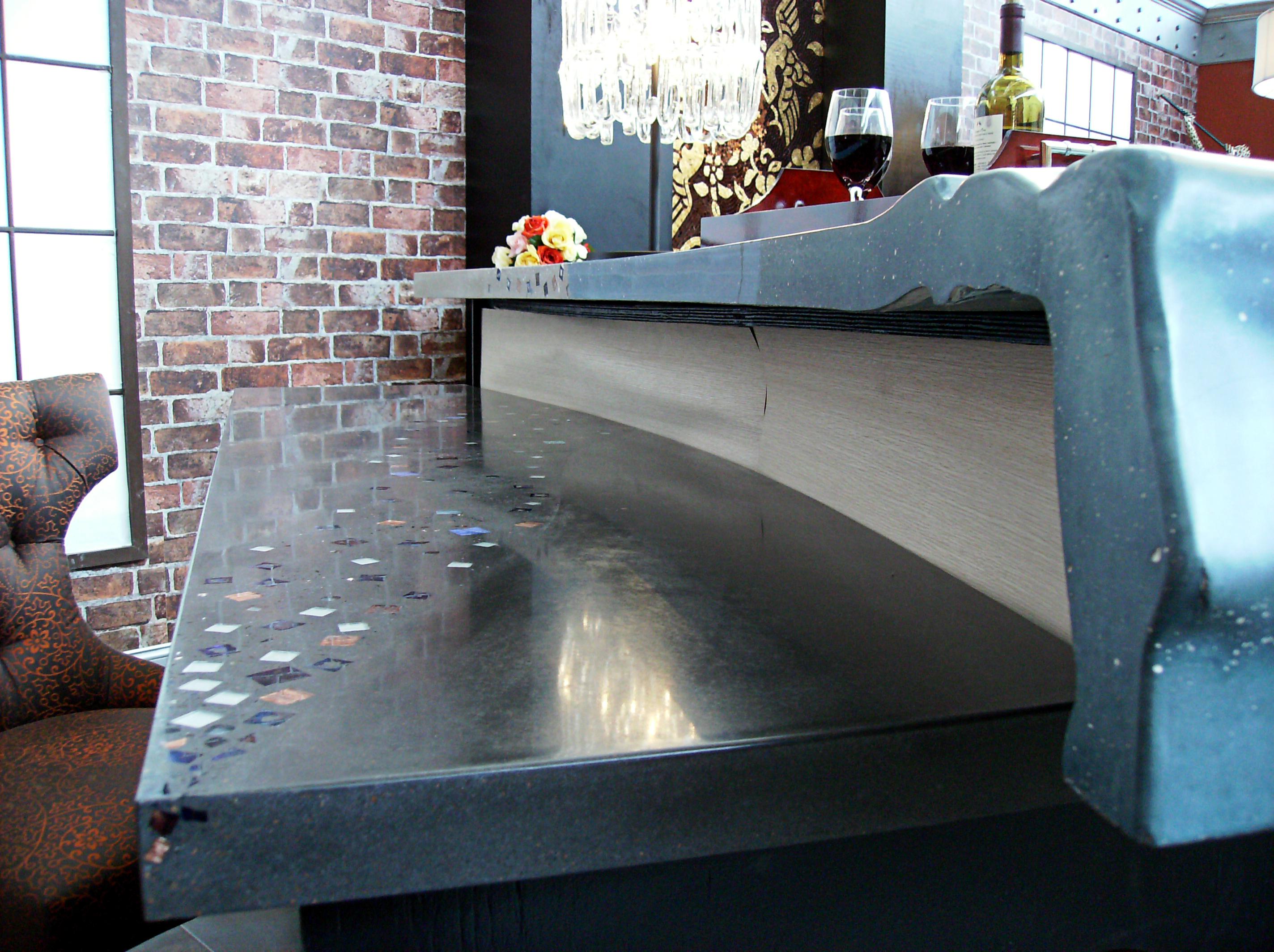 Organic Reception Desk
