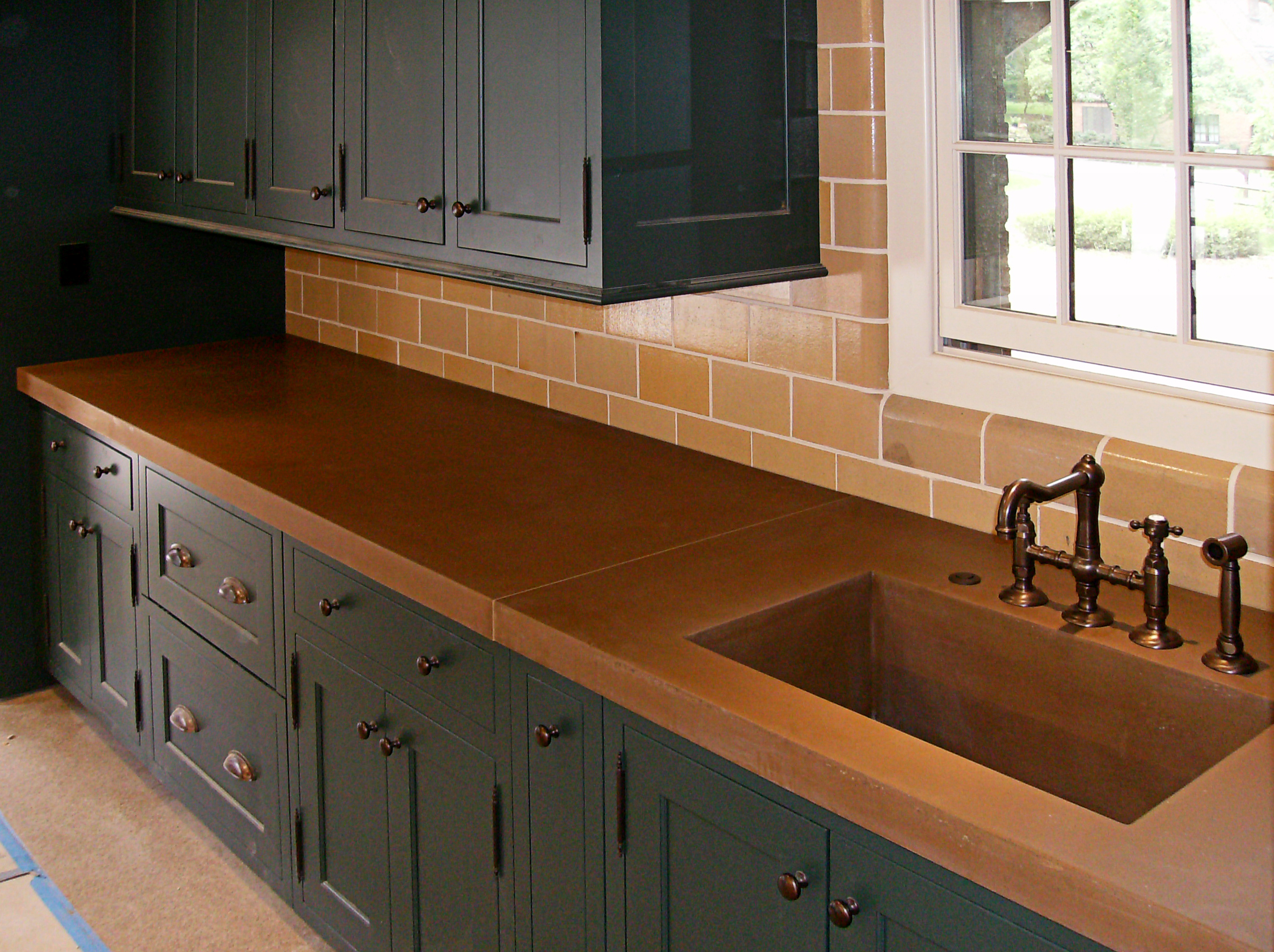 Integrated Concrete Sink